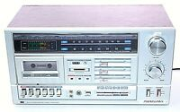 Vintage Soundesign 5643 Cassette Receiver Amplifier Bookshelf Stereo System