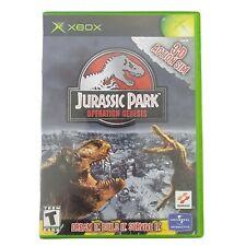 Jurassic Park: Operation Genesis (Microsoft Xbox, 2003) *** CASE ONLY ***