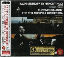 EUGENE ORMANDY-RACHMANINOFF: SYMPHONY NO.2 |SCRIABIN:...-JAPAN 2 CD D73