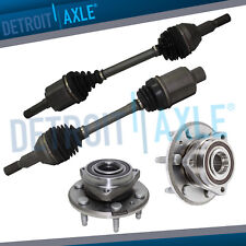 Front Wheel Bearing & CV Axle Assembly Set - 2007-2016 Acadia Enclave Traverse