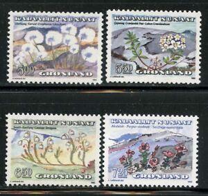 Greenland 1989 Native Flowers set Sc# 189-95 NH