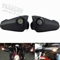 Motorcycle Hand Guard Handguards with LED Signal Light For ATV MX Off-Road Honda