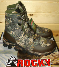 """12 W mens ROCKY 8"""" CLAW VENATOR 400g Insulated Waterproof Hunting Boots RKS0327"""