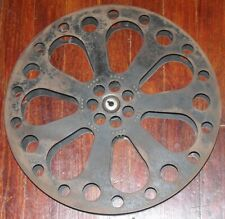 "Vintage 35mm Metal Movie Theater 14"" Film Reel"