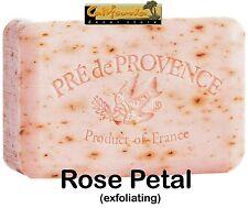 Pre de Provence French Soap ROSE PETAL Fragrance 150 Gram Bath Bar Shea Butter