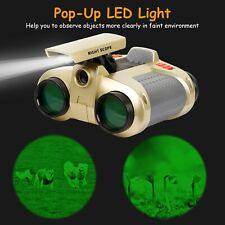 Night Vision Surveillance Scope Binoculars Telescope Pop-Up Light Kids Xmas Gift
