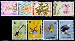 SINGAPORE #62-69 1962 DEFINITIVES VF