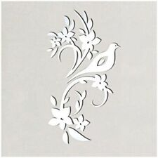 """Mirror Wall Art """"Bird Tree"""" Wall Stickers Removable Self-Adhesive Mural Decal EL"""