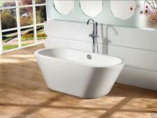 """Acrylic Bathtub - Freestanding - Soaking Tub - Modern Bathtub - Amadeo - 63"""""""