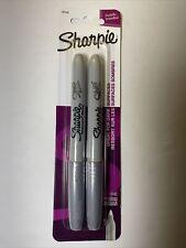 Sharpie Fine Point Metallic Silver Permanent Marker 1 Blister Pack 2 Marker