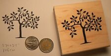 P60 Tree rubber stamp