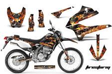 Dirt Bike Decals Graphics Kit Sticker Wrap For Kawasaki KLX250 08-18 FSTORM BLK