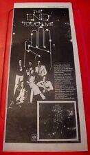 "The Enid Touch Me Vintage ORIGINAL 1979 Press/Magazine ADVERT 17.5""x 7.5"""