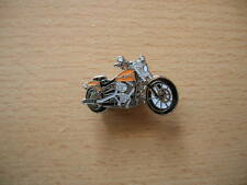 Pin Harley Davidson dérivation Orange Chopper Art. 1232 Moto Moto Custom Bike