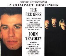 The Bee Gees / John Travolta 2xCD The Bee Gees / John Travolta - Europe (EX/EX)
