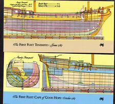 Australia First Fleet Folders: Teneriffe 1787 / Cape Of Good Hope 1787