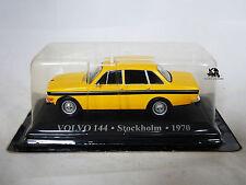 Miniature IXO Véhicule Altaya Taxi du Monde Volvo 144 Stockholm 1970 Diecast