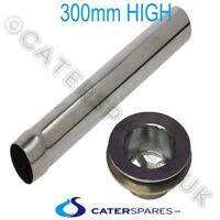 300mm 40mm COMMERCIAL CATERING SINK STAINLESS STEEL PLUG  AND WASTE OUTLET SET