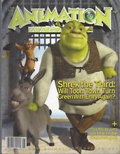 ANIMATION Magazine (June 2007) Shrek the Third, Art of Ratatouille , more ~ F329