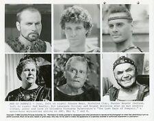 DUNCAN REGEHR NICHOLAS CLAY FRANCO NERO LAST DAYS OF POMPEII 1984 ABC TV PHOTO