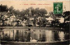 """CPA  Hérault - Béziers - L'Enfant au """"Poissons """"   (511405)"""