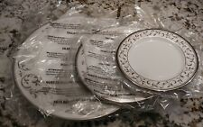 Lenox Opal Innocence Silver 3-Pieces of a Dinnerware Place Setting