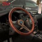 High Quality JDM Copy Wood Steering Wheel With Black Spoke Classic Nardi Torino