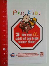 Aufkleber/Sticker: Mc Donald's  Pro Sieben  Esso  Auto Bild Pro Kids (01071668)