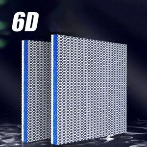 New 6D 6Layers Fish Tank Aquarium Filter Sponge No Glue Foam Biochemical cotton