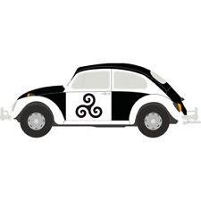 Autocollant Coccinelle voiture Bretagne Breizh sticker adhesif 17 cm