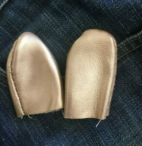Genuine LEATHER Thimble Set ~ XL Size Thumb & Finger Guard Quilting, Hand Sewing