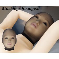 5pcs Stockings Headgear Pantyhose Mask Sheer Hood Role Play Costume Male Female