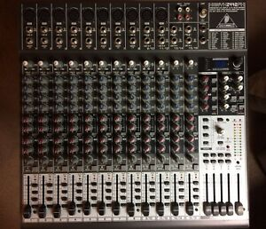 Behringer Xenyx 2442fx Mixer - Excellent Condition