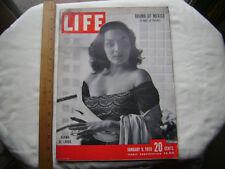1950 Life Magazine. Norma De Landa cover-also Mexico; Einstein, more.