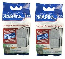 2 x Marina i25 Aquarium Filter Replacement Power Cartridges Tropical Fish Discus