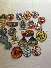Lot of 23 Vintage Boy Scout BSA Patch Patches WWW Arrow Philmont Hunter Regions