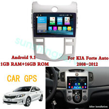 For Android 9.1 KIA Forte Auto 2008 - 2011 2012AT Car GPS Stereo Player New