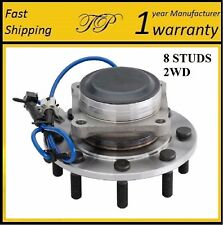 Front Wheel Hub Bearing Assembly For 2001-2006 CHEVROLET SILVERADO 2500 HD 2WD