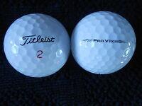 """20  TITLEIST  - PRO V1X -  Golf Balls -  """"A MINUS / B PLUS""""  Grades.."""