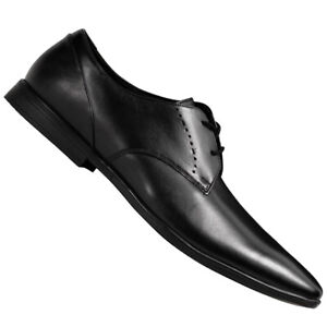 Clarks Bampton Lacci Casual Uomo Buiness Elegante Scarpe 261197957 Nuovo