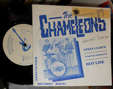 "THE CHAMELEONS (FINNLAND/FINLAND) GINZA LIGHTS 7 "" SINGLE RAUTALANKA"