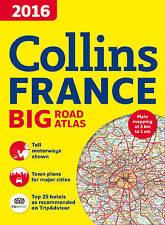 New, 2016 Collins France Big Road Atlas, Collins Maps, Book