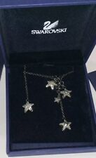 100% Authentic Swarovski Stars Pendant Necklace With Back Hanging Star