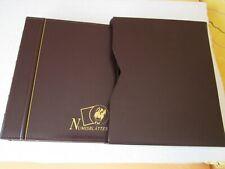 Original-Numisblattalbum der Dt. Post m. Schuber + 10 Einlegeblättern gebraucht