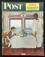 SATURDAY EVENING POST - Dec 7 1946 complete -  NORMAN ROCKWELL / Coca Cola Ad