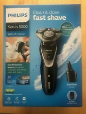 PHILIPS S5572/10 Series 5000 Wet & Dry Shaver + SmartClean + Trimmer * AquaTouch