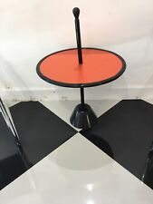 Servomuto by Achille Castiglioni For Zanotta Reversible Side Table Orange/Gray