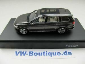 Volkswagen VW Passat Variant B8 1:43 Herpa 3G9.099.300.A.B8R Noir Chêne Marron