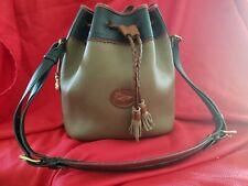 New listing Vintage Dooney & Bourke Teton Tricolor Bucket Handbag