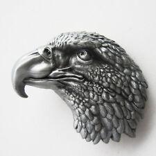 Men Buckle Eagle Head Western Belt Buckle Gurtelschnalle Boucle de ceinture